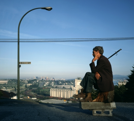 Jeff Wall - The Thinker