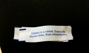 Really weird fortune my coworker got